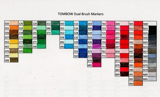 Color Chart Archives Stampin Nut